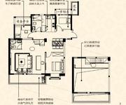C1户型-建筑面积约143㎡