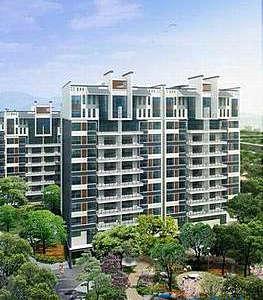 中航城豪华装修3房 中央空调地暖 景观楼层