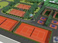 公园-运动场地规划示意图